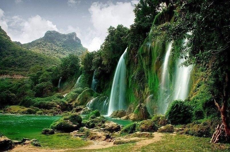 водопады Дэтянь