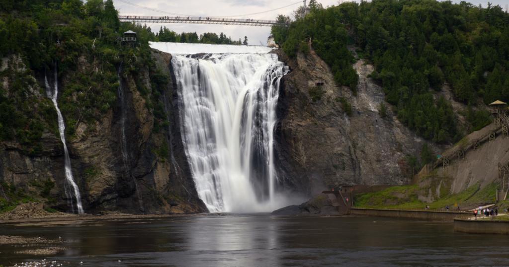 Монморанси водопад